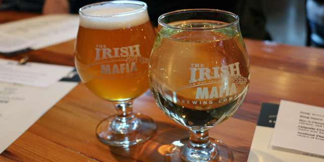 Irish Mafia Brewing Company Drinks