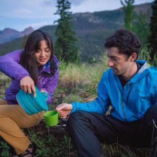 Backpacking at Molas Pass, Durango, CO