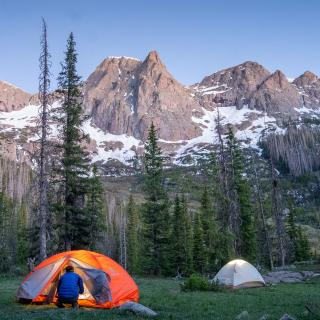 Camping in the Chicago Basin, Durango, CO