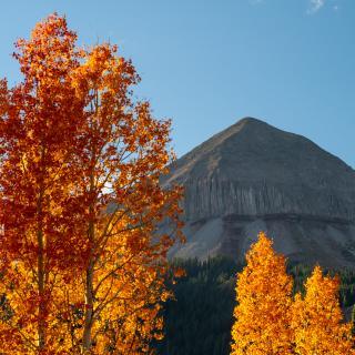 Engineer Mountain During the Fall, Durango, CO