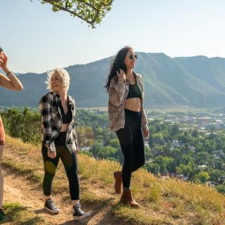 Hiking on the Rim Trail in Durango, CO