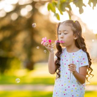 Little Girl at Buckley Park, Durango, CO
