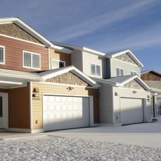 Housing at Eielson AFB