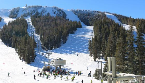June Mountain opening day 2015