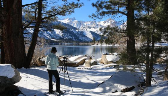 Photography at Lower Twin Lake