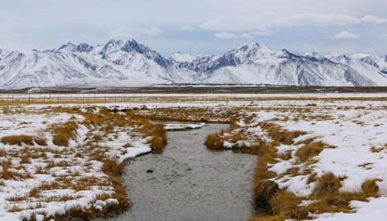 winter owens river