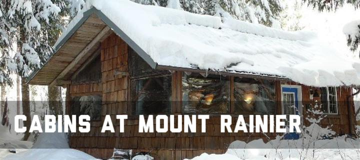 Mt Rainier Cabins And Cottages Are A Winter Wonderland