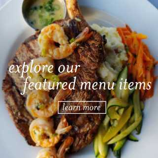 Explore our featured Restaurant Month menu items