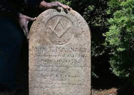 John Maynard Gravestone at St. Anne's Cemetery