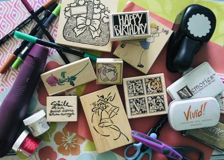 Stamping & crafting supplies