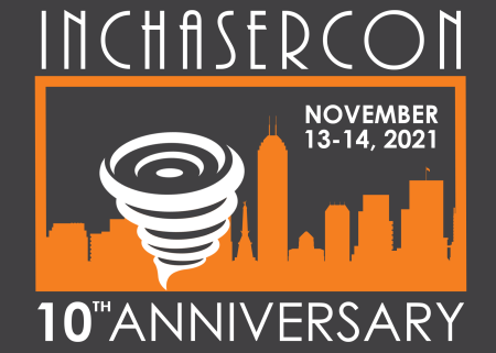 Indiana Storm Chasers Convention logo