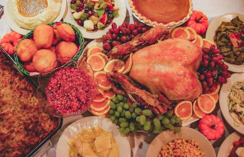 Turkey and all of the fixings from Joe Huber's Thanksgiving