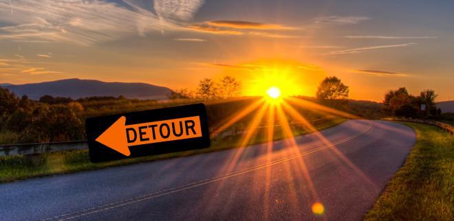 Blue Ridge Parkway Detour