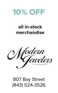 Modern Jeweler's Coupon