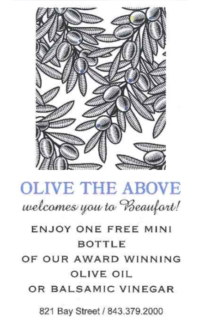Olive the Above Coupon