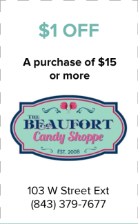 Beaufort Candy Shoppe Coupon