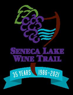 Seneca Lake Wine Trail 35th logo