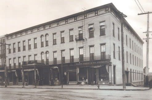 Eldridge Hotel, 1913