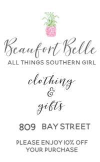 Beaufort Belle Coupon