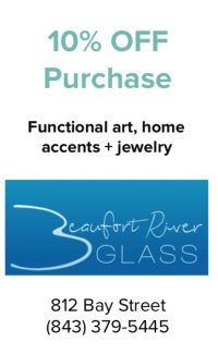 Beaufort River Glass Coupon