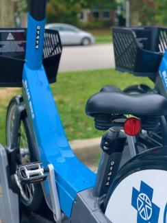 Blue Bike SC Unlock Bike