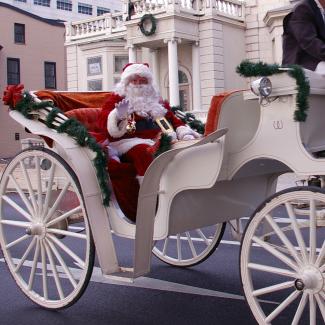 Harrisburg Holiday Parade Santa