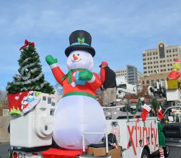 Harrisburg Holiday Parade Snowman