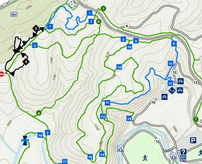 Waid Park Trail Map