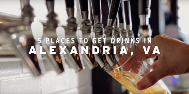 5 Places to Get Drinks in Alexandria, VA