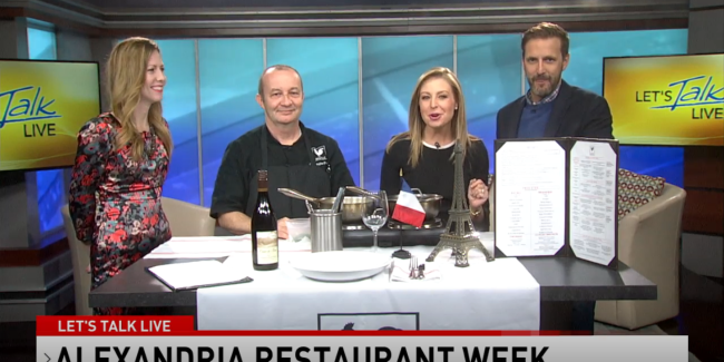 Let's Talk Live Alexandria Restaurant Week