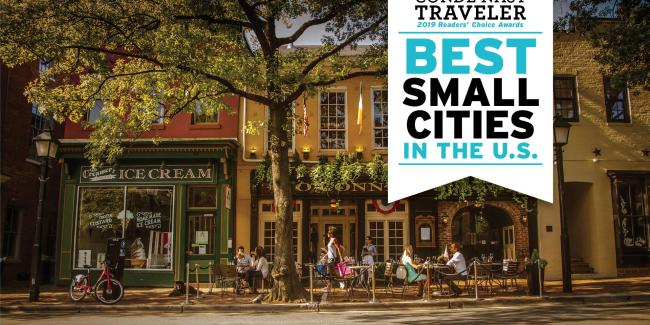 Top 3 Small Cities for a Meeting