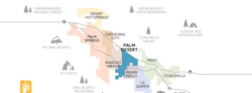 Explore Palm Desert, CA | A Greater Palm Springs Visitor's Guide on morton botanical garden palm springs, map of greater palm springs, google map of palm springs, street map of palm springs, map of california and palm springs, celebrities living in palm springs, map of california cities palm springs, map of california showing palm springs, good neighborhoods in palm springs, map of cities around palm springs, i-10 palm springs, downtown palm springs, united states map with palm springs, famous people in palm springs, map of southern california palm springs, best shopping in palm springs, map of hotels in palm springs, map stars homes palm springs,