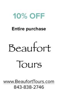 Beaufort Tour's Coupon