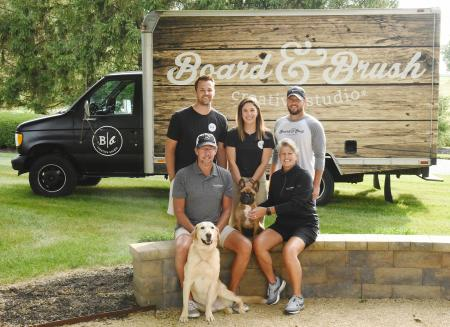 Board and Brush, New Owners, Waggoner family, Kelly, Jeff, Grant, Kyle, Waggoner