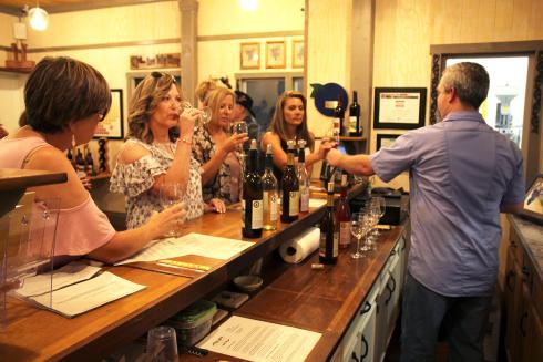 Wine Tasting at Naca Valley Vineyard in Nacogdoches