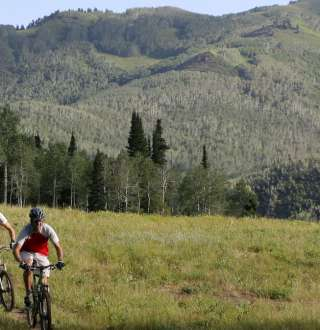 Biking in the Wasatch 1801x675