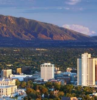 Downtown Salt Lake - Skyline 1801x675