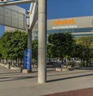 Vivint Smart Home Arena, Home of the Utah Jazz