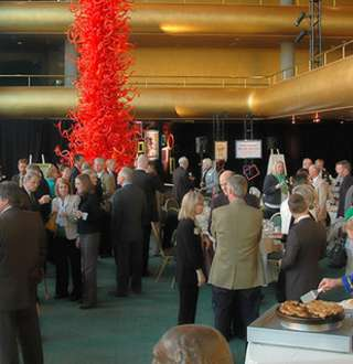 Reception at Abravanel Hall