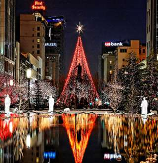 Salt Lake Festival of Lights, Christmas Lights on Temple Square