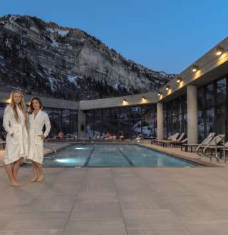 Cliff Spa pool at Snowbird Resort