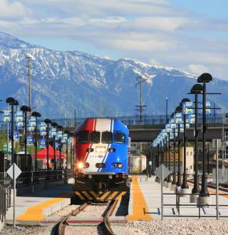 Salt Lake City...and TRAX
