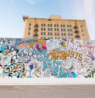 Jazz Anniversary Mural