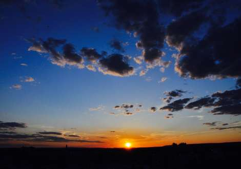 Sunrise in Elizabeth NJ