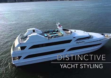 Atlantis Yacht NYC - Private Yacht Charters