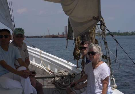 NJ's Official Tallship, AJ Meerwald, Comes to Elizabeth, NJ
