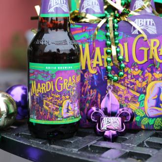 Abita Brewing Company's seasonal favorite, Mardi Gras Bock