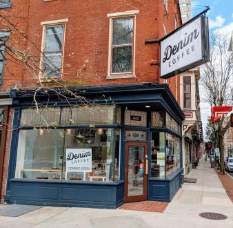 Denim Coffee Storefront