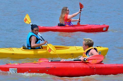 Riverfest Kayaks