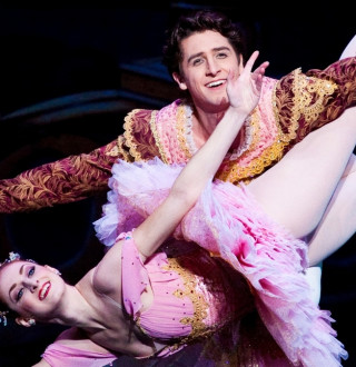 Ballet West's Christiana Bennett and Christopher Ruud in